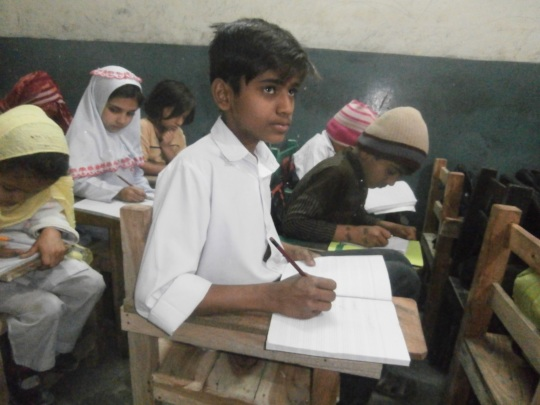 Ali in his class