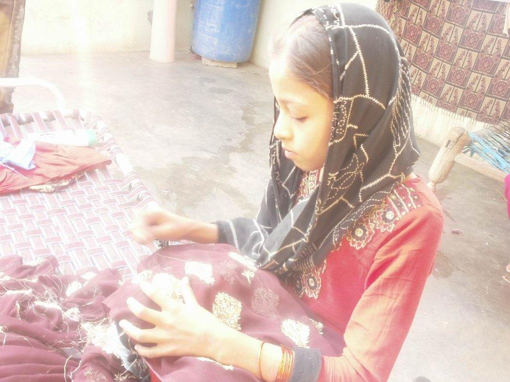Javeria at work