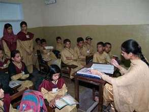 Help working children in Pakistan go to school