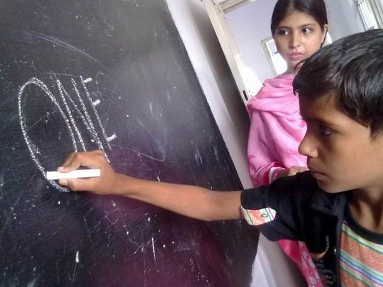 Educating 1800 child workers in Pakistan