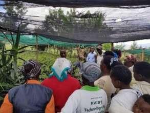 Farm Training, Seed Savers Network Kenya.
