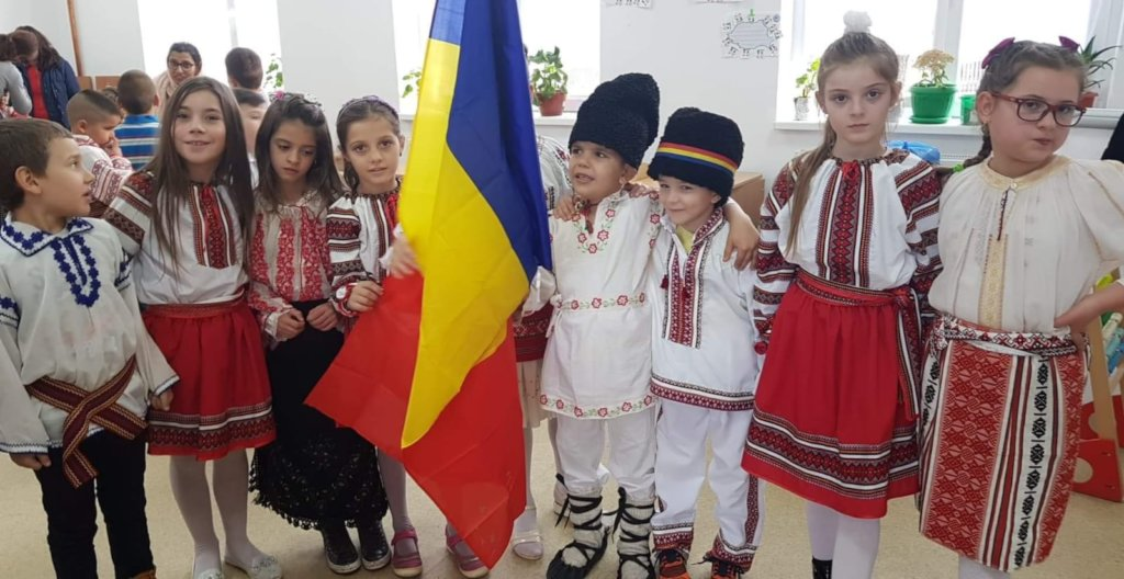 Our children from Valea Stanciului
