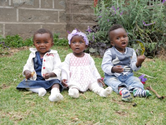 Agatha Amani babies