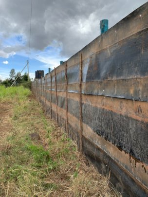 Fencing of New Land