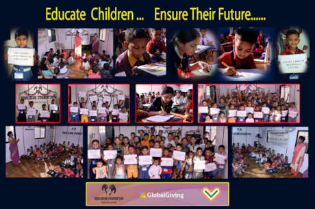 EDUCATE CHILDREN... ENSURE THEIR FUTURE......