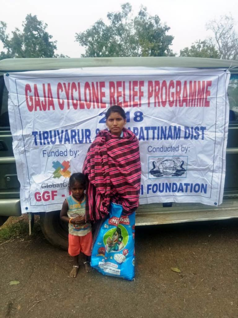 GAJA CYCLONE RELIEF AND RESCUE PROGRAM
