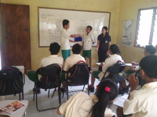 Teaching learning at EBPP school