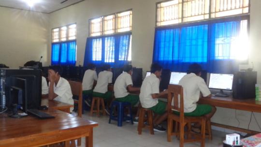 EBPP students taking National Exam to graduate