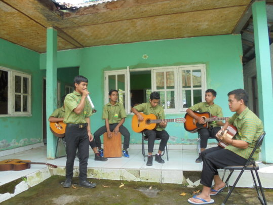 Preparation for Education Day performance