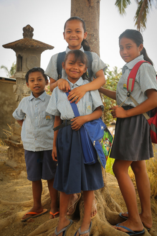 Support Teachers in Remote Village of East Bali