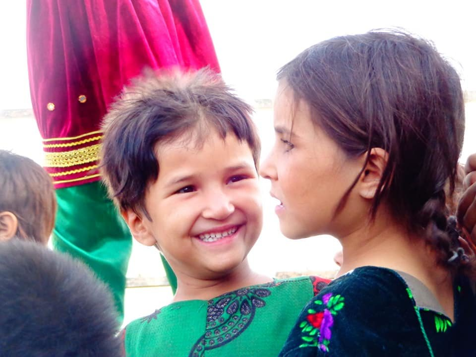 Cheerful Afghan Winter & Summer