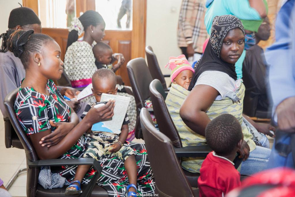 Parents validating data/ Yoff, Dakar