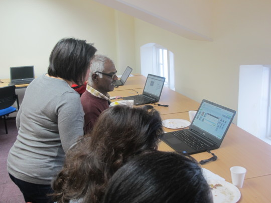 IT Training Session for Carers