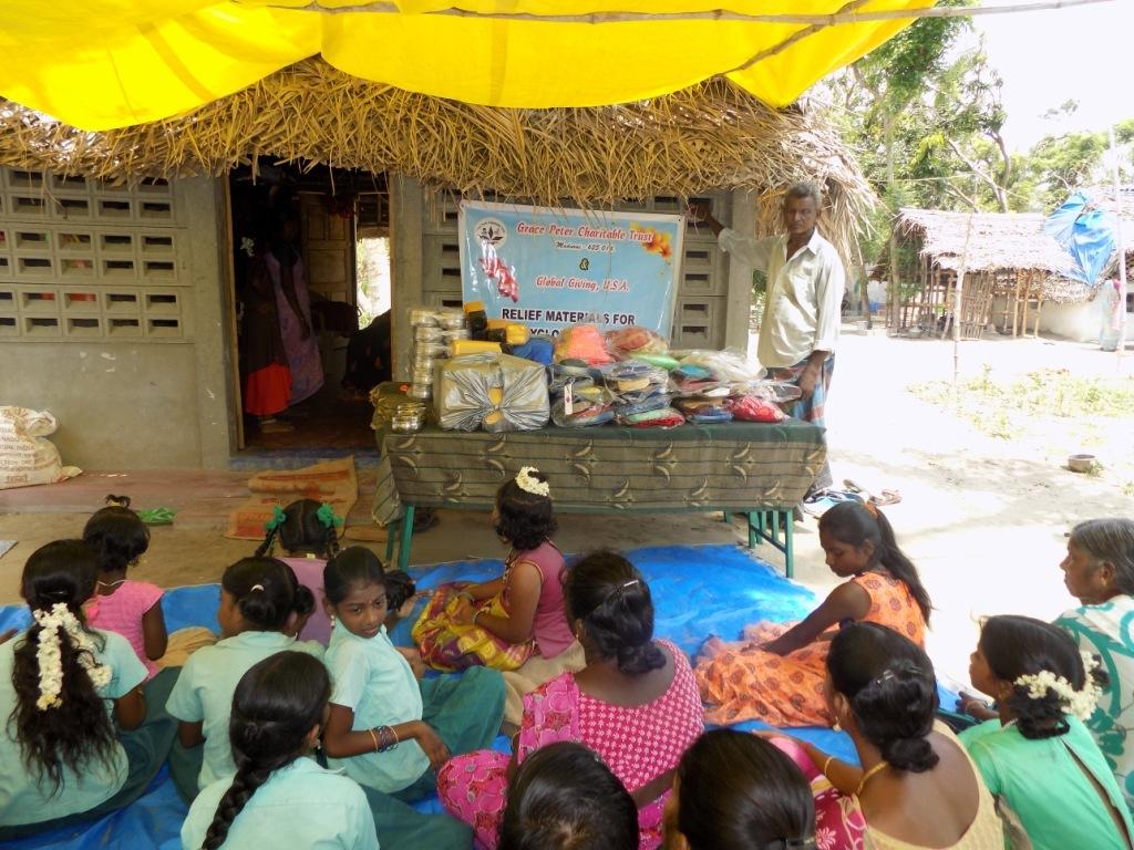 Gaja Cyclone Victim Children - Function