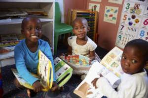 Nurturing a love of books