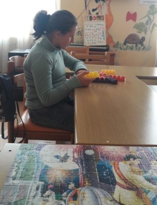 Blerta and the Building Blocks