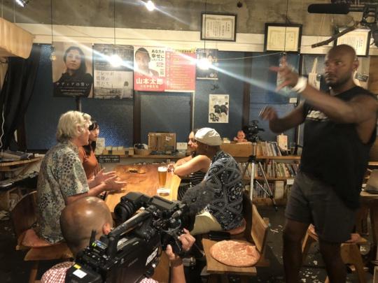 Interviews at Hachidorisha - the Social Book Cafe