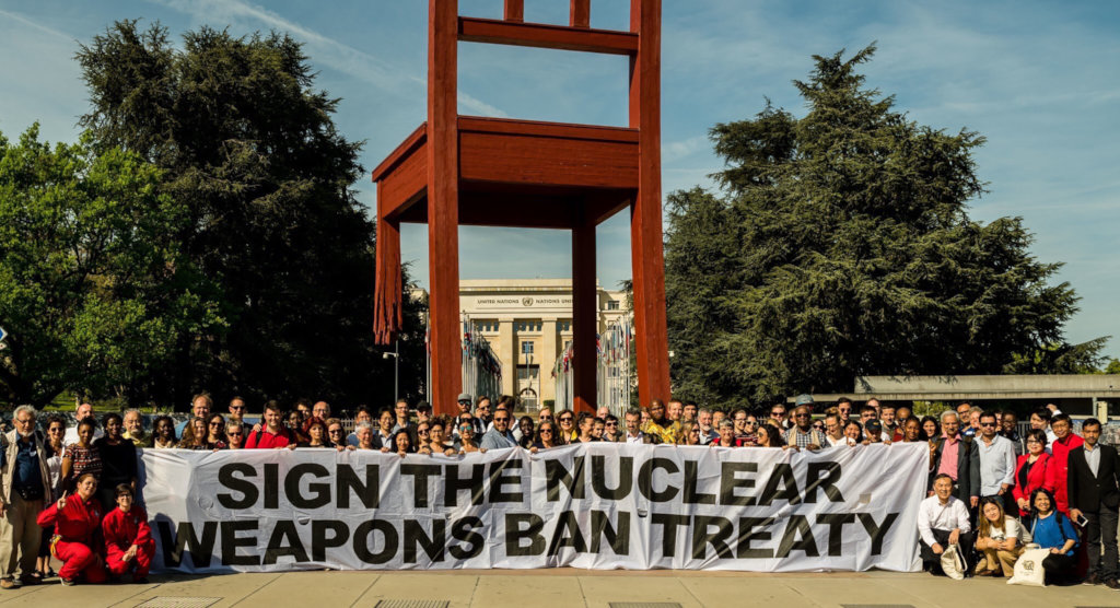 Survivors Appeal to End Nuclear Weapons