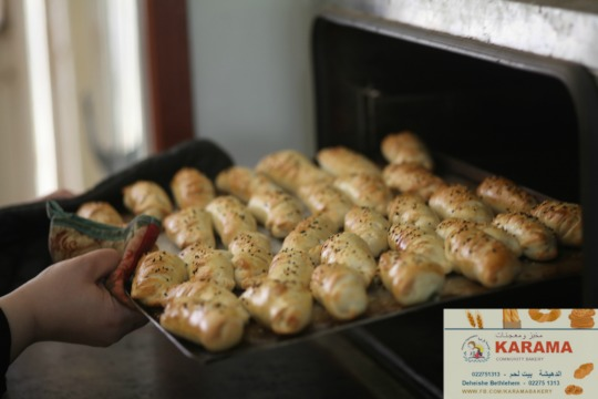 Warm cheese breads from the oven!