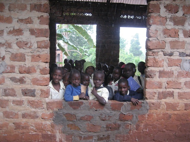 students at Bright Junior School