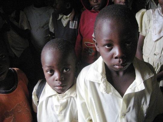 students at Bright Junior School 2