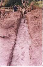 Foundation of the building