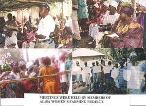 Meeting held by members of Alisa