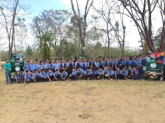 Students at Ya'axche's 4th Annual Bioblitz