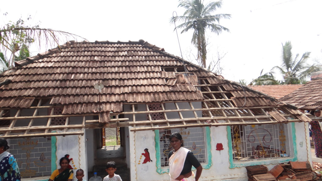 Gaja cyclone relief measures for 200 families