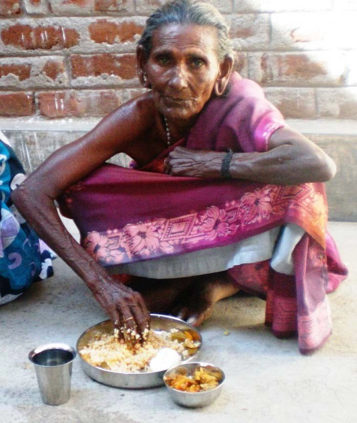 one month food for 26 neglected elders in our home