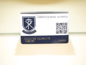 identity card of the oldest alumnus resident in US