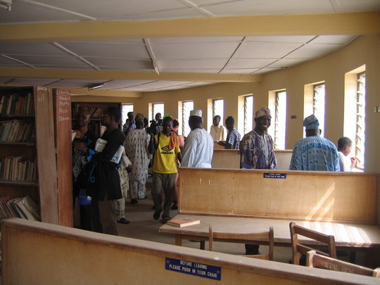 Completing 2 Libraries for 4000 Nigeria Students