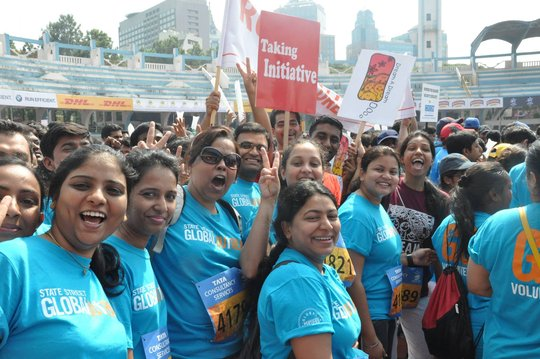 At TCS World 10K Bangalore 2014