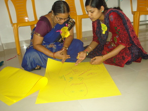 At the Teacher Development Training