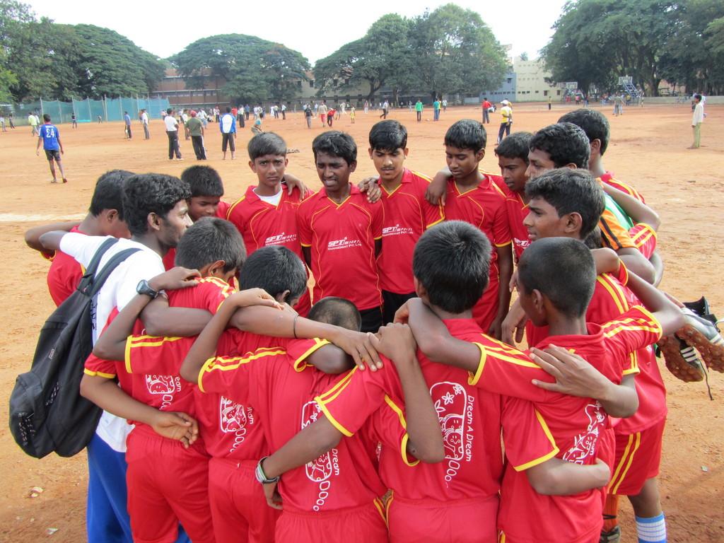 Dream Football Program - Children in Tournament