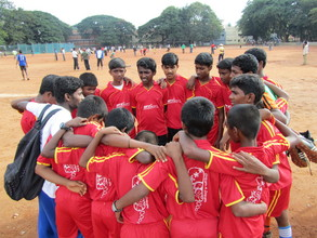 Dream Football Program - Children in Tournament