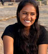 The smile says it all -Dream Graduate Anitha