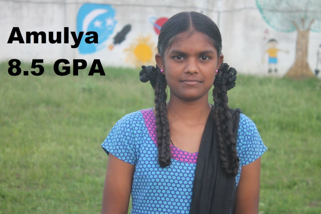 Support Amulya's College Education