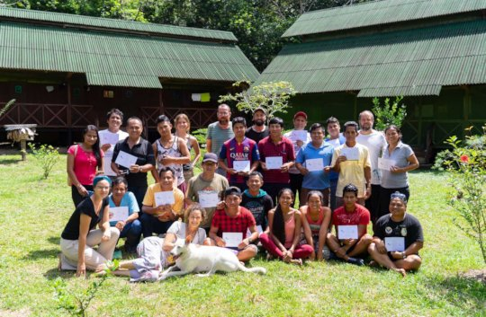 The participants, an intercultural group