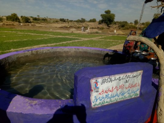 Water Reservoir for Green Farms in Thar