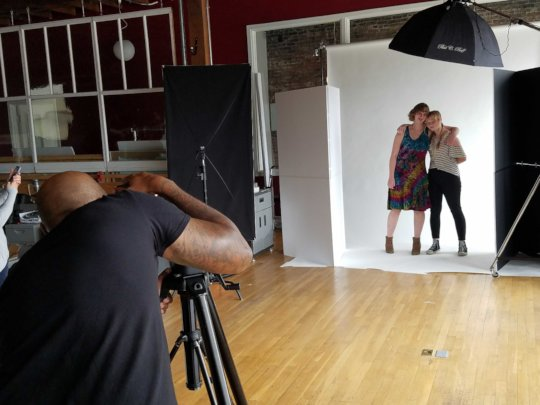 Sisters in I Defy the Odds Photoshoot
