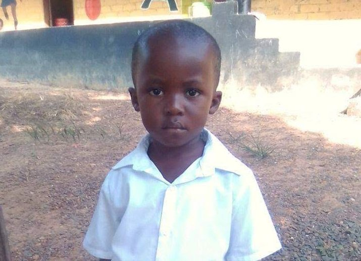 Future Liberian Leader, Moses, is Ready for School