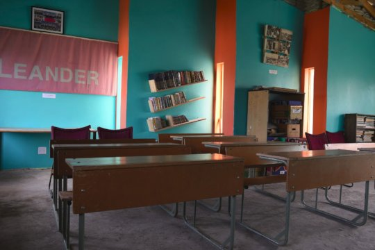The classroom at our community centre