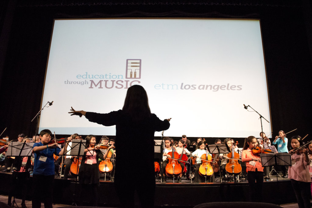 Give In-School Music Classes to Los Angeles Youth