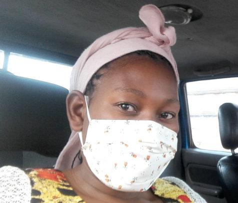 Constance from WAP makes masks, inspire girls