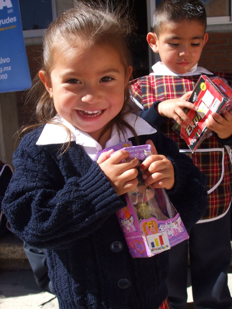 Educa delivered new toys in January