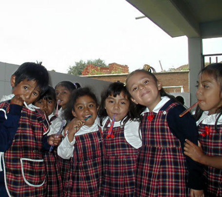 Students receive comprehensive child care