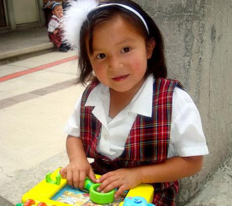 Our preschoolers enjoy fun, educational toys