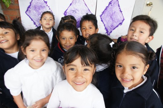 At-risk children are happy & safe at our schools