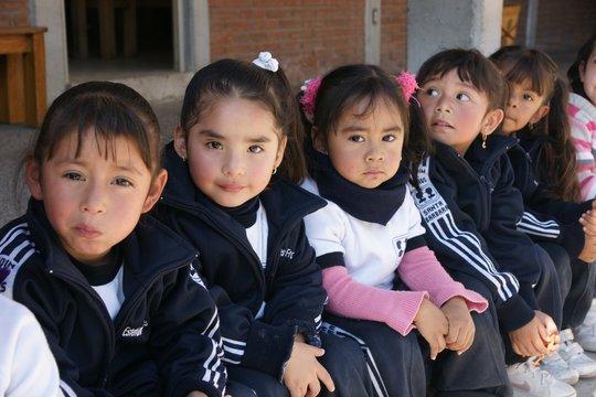 Preschoolers from SEDAC, an EDUCA Network School